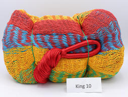 Hamac Mexicain en filet taille King en coton K10