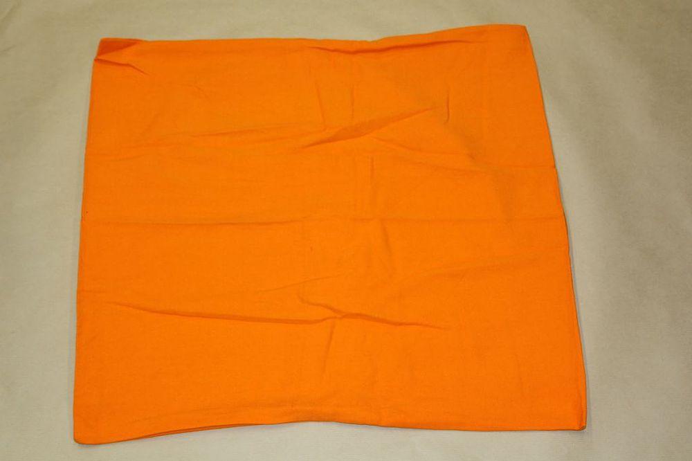 housse de coussin orange achat vente de accessoires. Black Bedroom Furniture Sets. Home Design Ideas