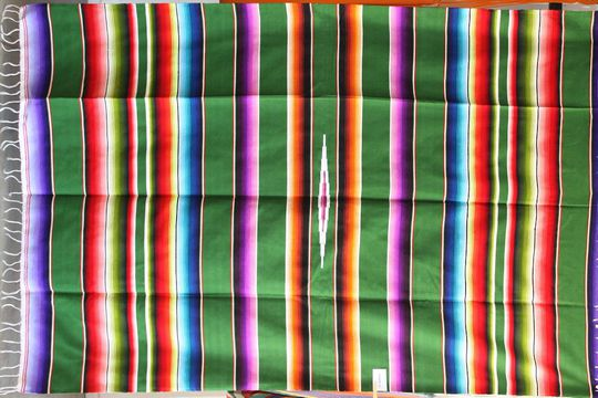Couverture Mexicaine en coton Sarape XL n°23