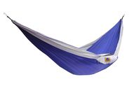 Hamac parachute Single Bleu/White